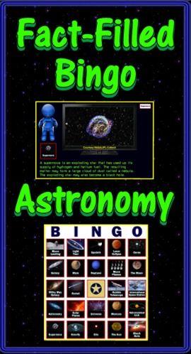 astronomy bingo - photo #6